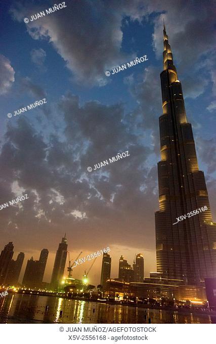 Burj Khalifa. Dubai. United Arab Emirates. middle East
