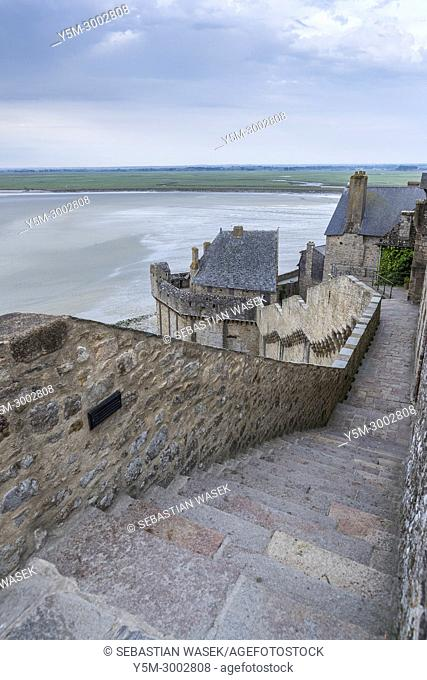 Saint Michael's Mount, Normandy, France, Europe