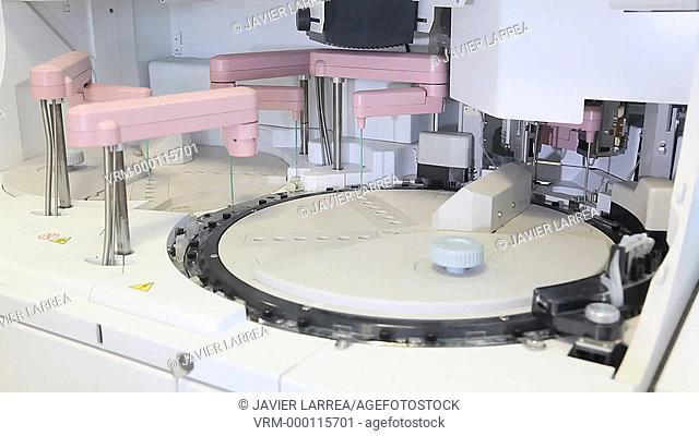 Electrolyte test , Photometry , Turbidimetry , Potentiometry , Spectrometry , Hemotherapy , Hospital
