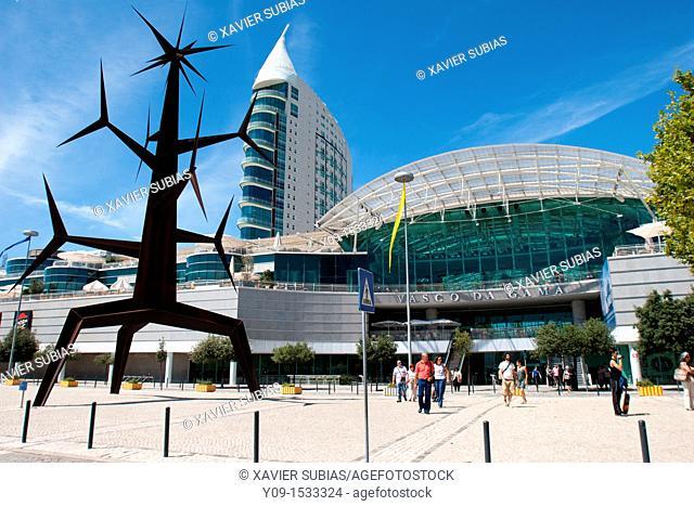 Vasco da Gama shopping mall, Nations Park, Lisbon, Portugal