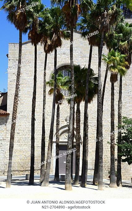 Santa Susanna del Mercadal Church. City of Girona, Catalonia, Spain, Europe