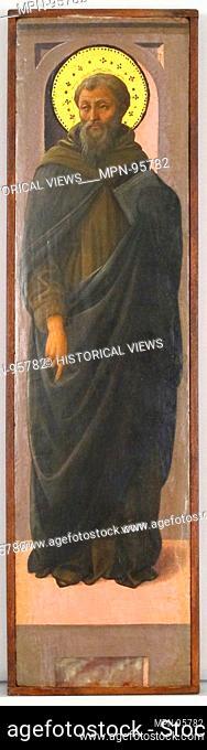 Male Saint. Artist: Workshop of Fra Filippo Lippi (Italian, Florence ca. 1406-1469 Spoleto); Date: ca. 1447-1469; Culture: Italian