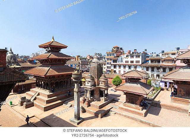 View of Durbar square, Patan, Nepal