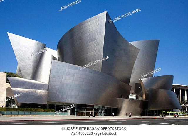 USA-California-Los Angeles City-Walt Disney Concert Hall-Architect Gehry