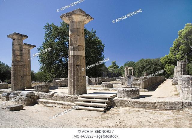 Olympia, Heratempel