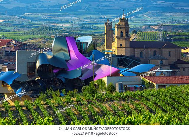Elciego village, Wine region of la Rioja Alavesa, Alava, The Basque Country, Spain, Europe