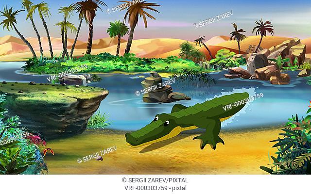 Little, Crocodile, UHD