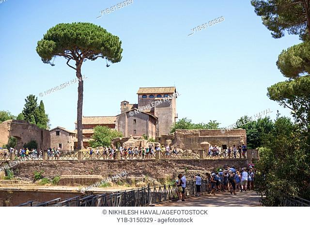 Convent of S. Bonaventura, Palatino, Rome, Italy