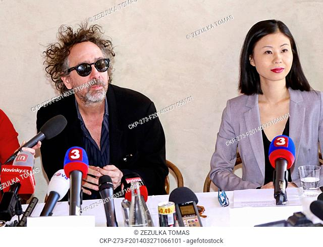 Famous tim burton journalist Stock Photos and Images | age