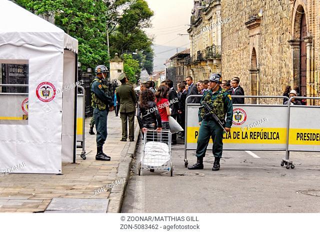 Presidential Guard, Bogotá, Colombia