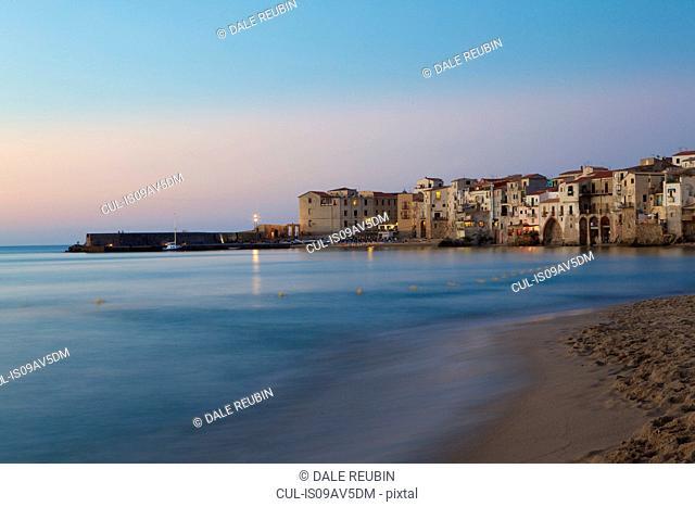 Coastline, Cefalu, Sicily