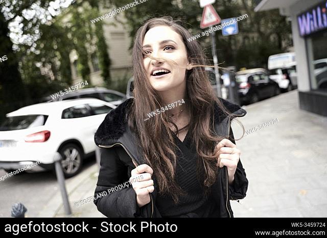Young woman. Munich, Germany