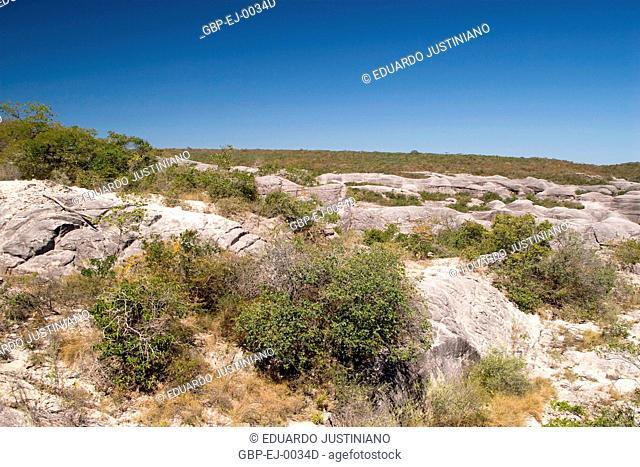 Rocky formations, Caracol, Piauí, Brazil