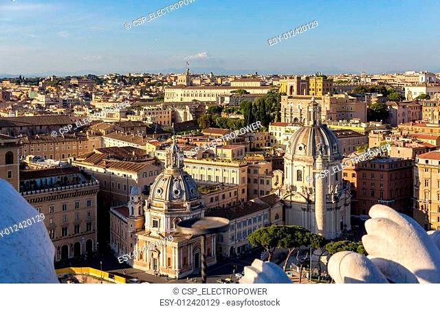 Churches Santa Maria di Loreto and Santissimo Nome di Maria al F