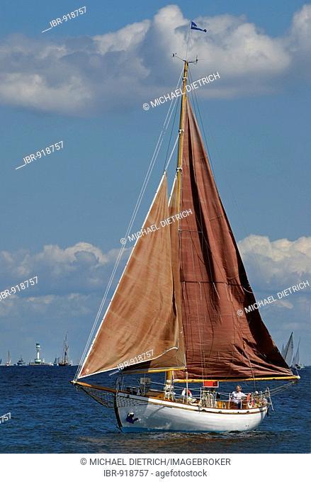 Yacht in the Kiel Fjord, Schleswig-Holstein, Germany, Europe
