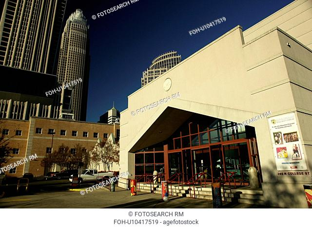 Charlotte, NC, North Carolina, Downtown, Spirit Square, Blumenthal Performing Arts Center