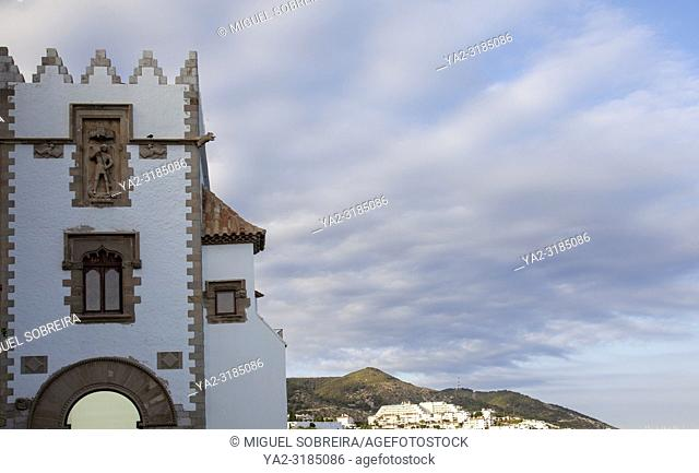 Maricel Palace in Sitges, Spain