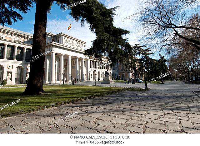 The Museo del Prado is a museum and art gallery located in Madrid, the capital of Spain  It features one of the world's finest collections of European art