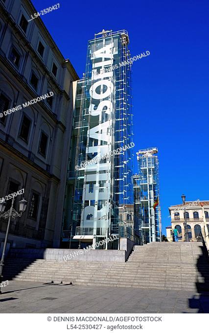 Reina Sofia Art Museum Madrid Spain ES