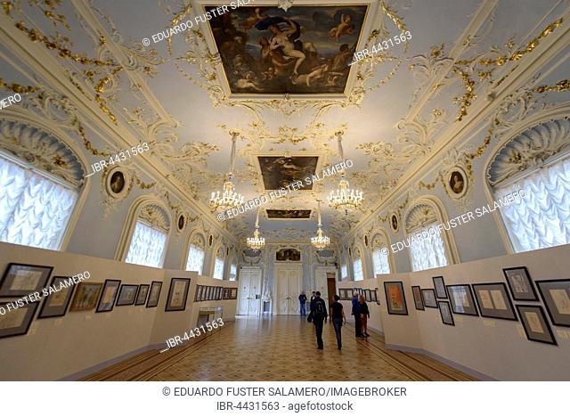 Gallery in The Hermitage, Saint Petersburg, Russia