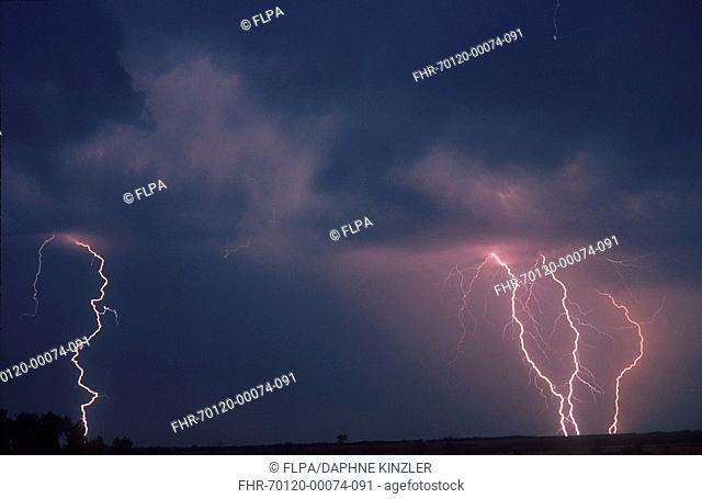 Lightning Fork lightning - clouds FL009285 S