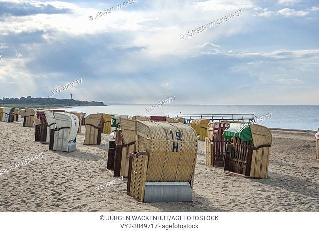 Beach, Heiligenhafen, Baltic Sea, Schleswig-Holstein, Germany, Europe