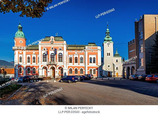Municipalities, Ruzomberok, Slovakia