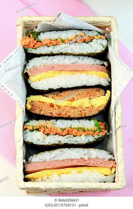 Rice Sandwiches