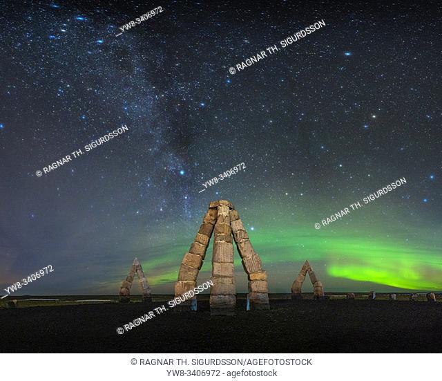 The Arctic Henge, (Heimskautsgerdi)