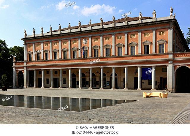 Teatro Valli, Teatro Municipale, Reggio Emilia, Emilia Romagna, Italy, Europe