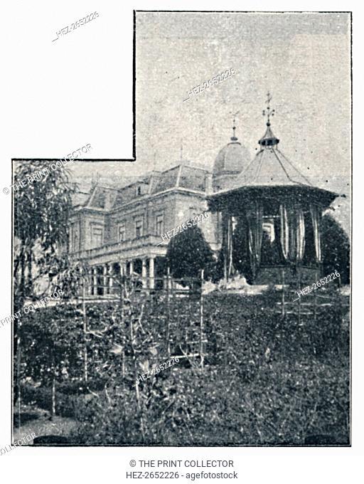 'Campos Elyseos. Casas particulares', 1895. Campos Elisios was a noble neighborhood of the city of Sao Paulo located in the district of Santa Cecilia