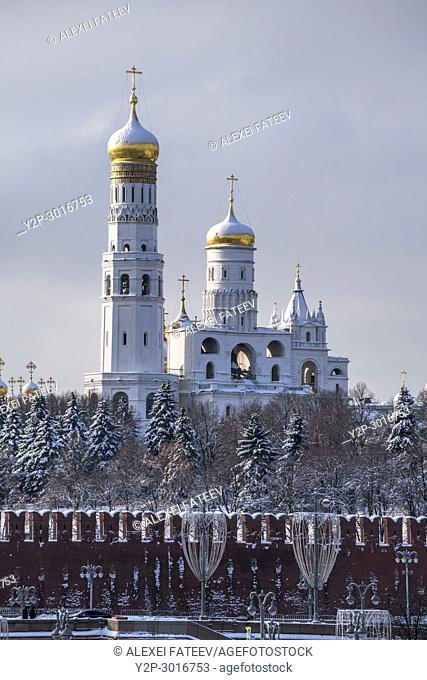 Ivan the Great Bell Tower in Kremlin, Moscow, Russia