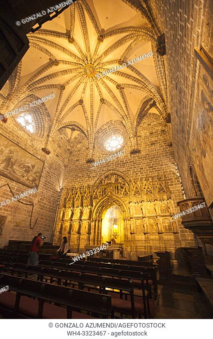 Chapel of the Holy Chalice or the Holy Grial. Santa Maria de Valencia Cathedral. Valencia. Comunidad Valenciana. Spain