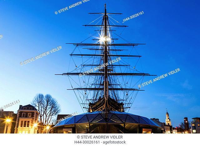 England, London, Greenwich, The Cutty Sark
