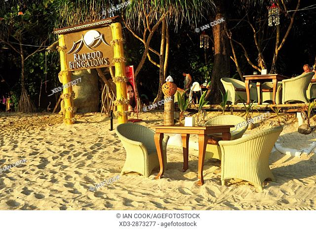 Bamboo Bungalows Guest House, Ao Yai Beach, Koh Phayam, Ranong Province, Thailand