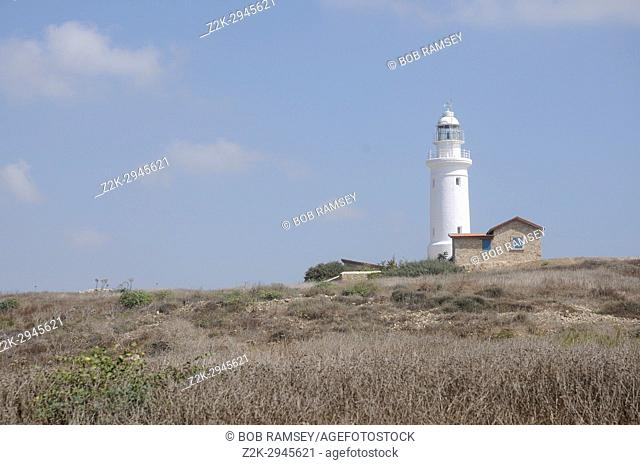 Paphos lighthouse in Cyprus