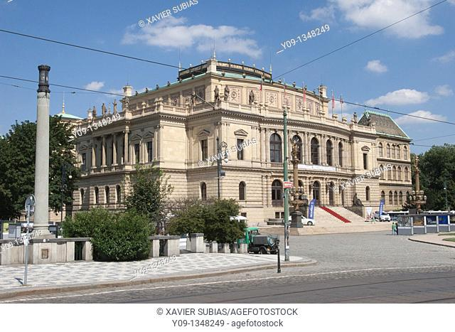 Rudolfinum Auditorium, Prague, Czech Republic