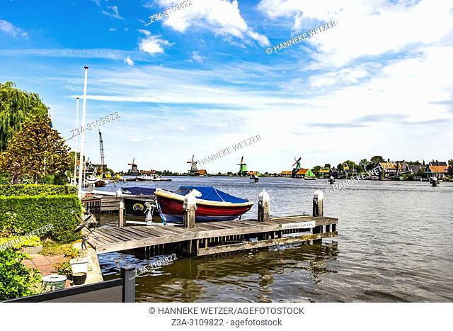 Zaanse Schans, North-Holland, the Netherlands, Europe