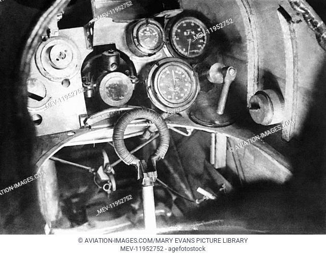 Royal-Aircraft-Factory Se-5A Cockpit