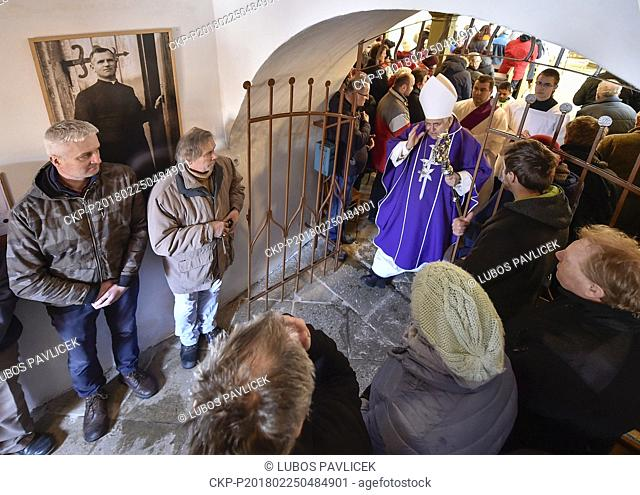 More than 100 pilgrims commemorated Czech Catholic priest Josef Toufar (1902-1950), who was killed by the communist secret police (StB)