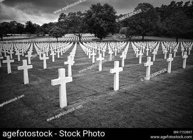 US American Military Cemetery, Cimetière militaire américain de Saint-Avold, English Lorraine American Cemetery and Memorial, Saint-Avold, Moselle, France