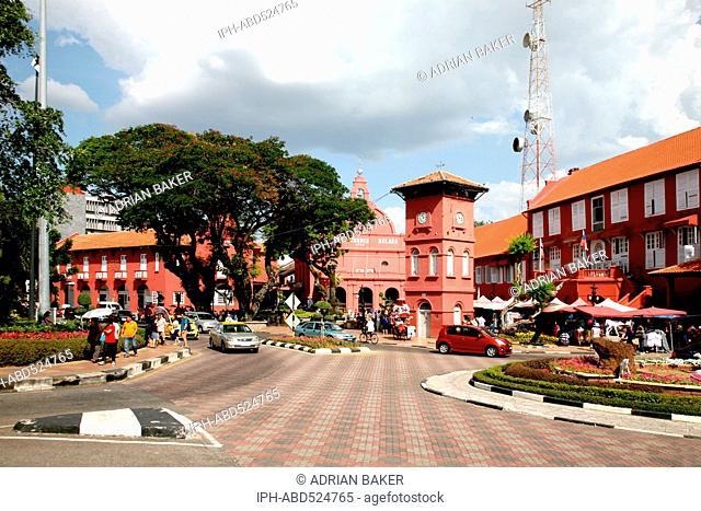 Malaysia Malacca (Also spelt Melaka) Dutch Square