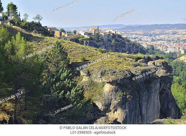 Cuenca city and Jucar river gorge