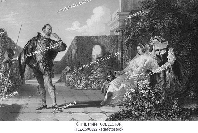 'Malvolio', c1870. Artist: R Staines