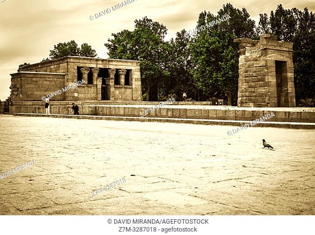 Templo de Debod. Madrid. España