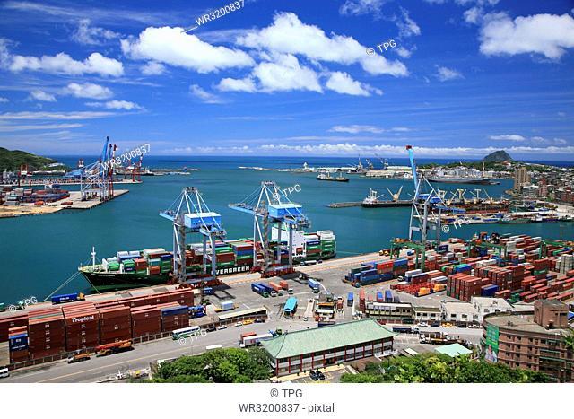 Keelung Port; Taiwan