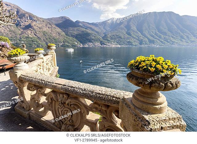 Italy, Lombardy, Como district. Como Lake, Villa del Balbianello