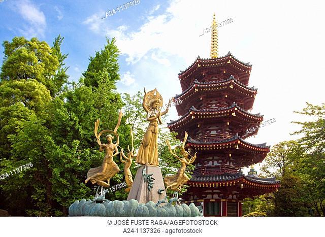 Kawasaki City-The Belfry of Kawaski Daishi Shrine