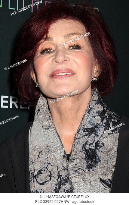 """Sharon Osbourne 12/04/2019 The Los Angeles Special Screening of """"""""A Million Little Pieces"""""""" held at The London West Hollywood at Beverly Hills in West Hollywood"""