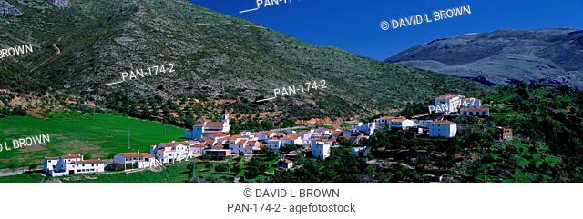 Mountain Village near Granada, Spain